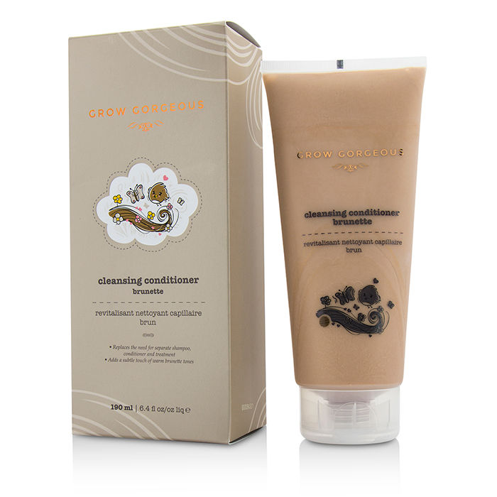 Grow Gorgeous - Cleansing Conditioner Brunette - 190ml/6oz