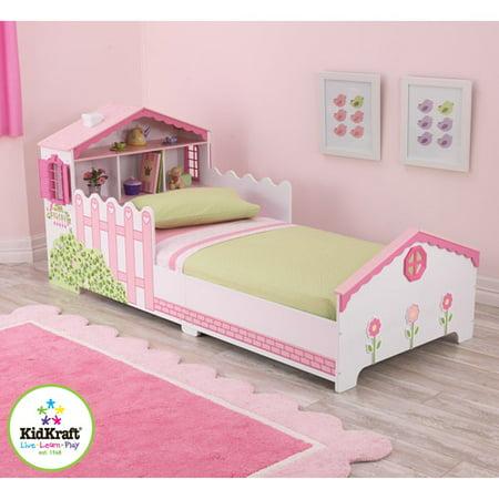KidKraft Dollhouse Cottage Toddler Bedroom Collection