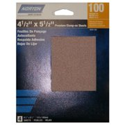 Norton 50251-038 Premium Clamp-On Sheets, 120 Grit, 4-Ct. - Quantity 1