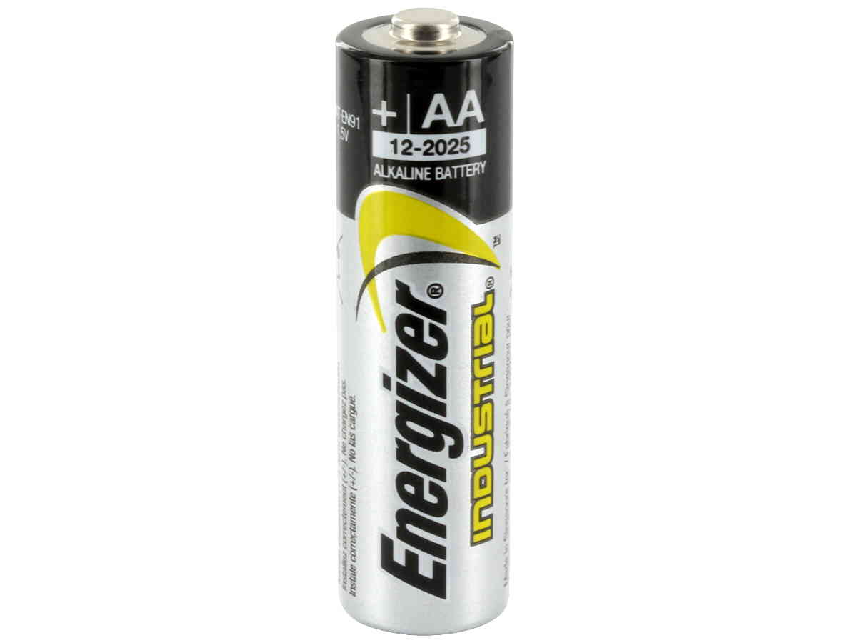 Energizer Industrial AA Alkaline Batteries 12 Pack + 30% Off! by
