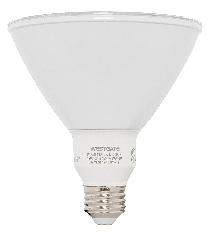 Westgate Lighting Par38 13w Led Light Bulb Best Led Bulb For Home Office Kitchen Dimmable 85 Watt Incandescent Replacement 25 000 Hr Lifespan 1