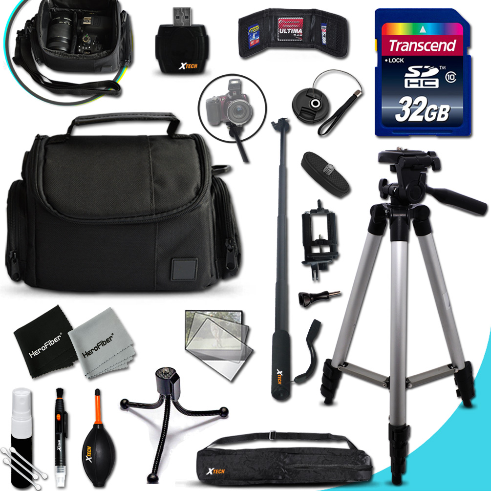 Xtech CANON POWERSHOT Accessories KIT for Canon PowerShot...