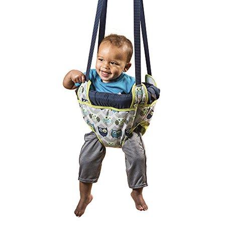 Evenflo Infant Doorway Jumper (Entertainment & Exercise for Baby, Comfortable Doorway Jumper by Evenflo - Owl)