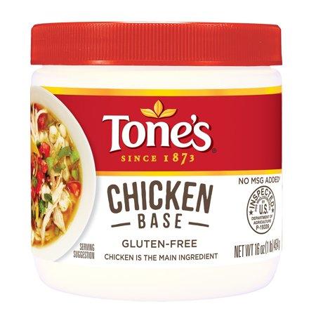 - Tone's Gluten Free Chicken Base, 16 Oz