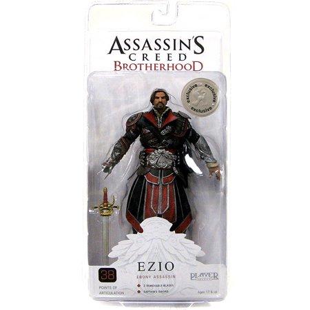 NECA Assassin's Creed Brotherhood Ezio Action Figure [Ebony Assassin] ()