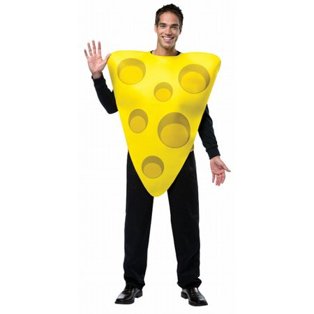 Cheese Men's Adult Halloween Costume, One Size, (40-46)](Cheese Ideas Halloween)