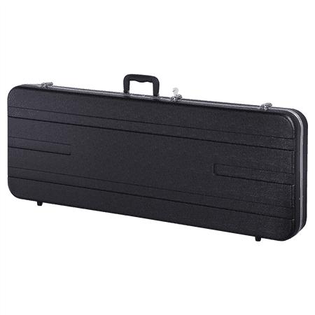 Topeakmart Deluxe ABS Molded Case Hardshell Rectangular Electric Guitar Case (Guitar Rectangular Case)