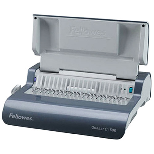 Fellowes Quasar Electric Comb Binding Machine
