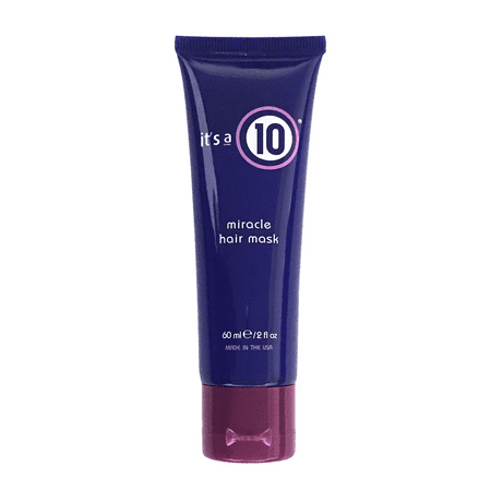 It's A 10 Miracle Hair Mask 2 Oz, Restores Moisture, Softness And