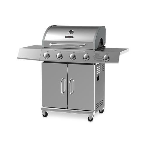 Chant Kitchen Equipment BG2724B 4-Burner Gas Grill + Side Burner by CHANT KITCHEN EQUIPMENT LTD