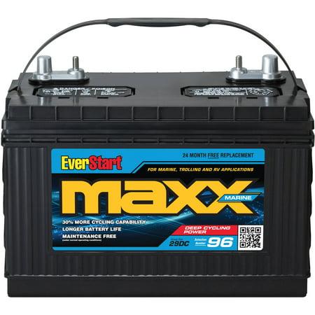 Everstart Maxx Lead Acid Marine Battery, Group