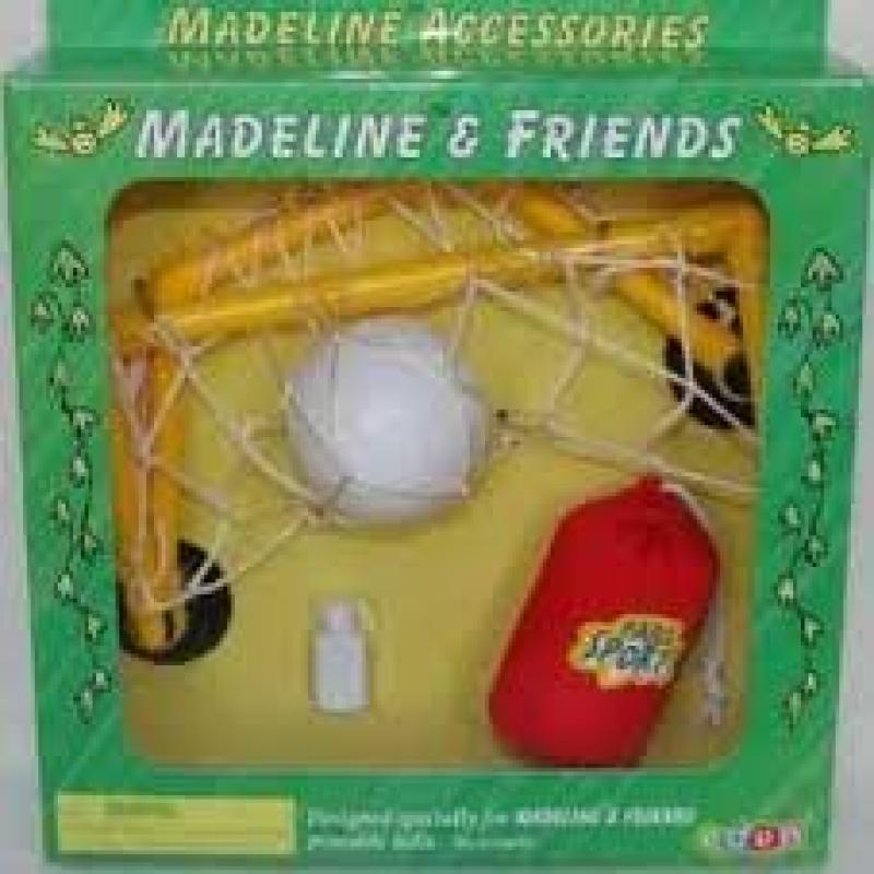 """Madeline 8"""" Poseable doll SOCCER Accessories by Eden by"""