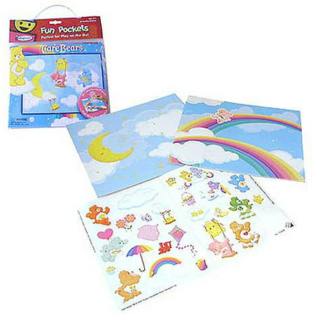Care Bears Colorforms Fun Pocket
