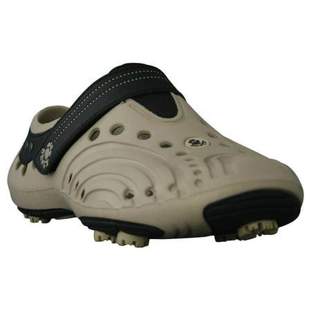 Dawgs TAN/BLACK Men's Golf Spirit Shoes - Size 9 M/D