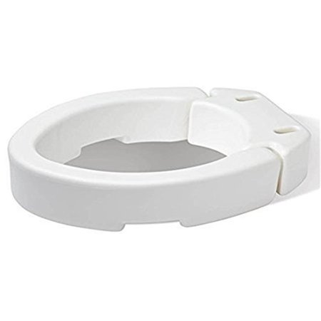 Compass Health Brands Fgb32100 Hinged Toilet Seat Riser