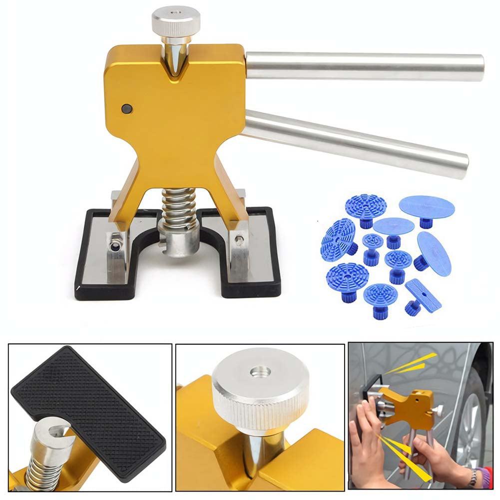 Autos Body Paintless Dent Removal Pro Car Dent Puller Tabs DIY Repair Tools Kit
