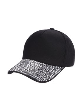sports shoes 9fcc3 7a24a Product Image Tuscom Womens New Fashion Baseball Cap Rhinestone Paw Shaped  Snapback Hat
