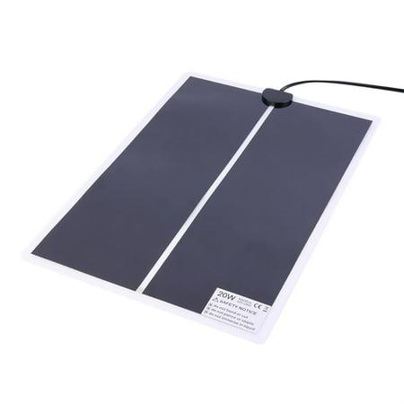 Hot Sale Ir 20W Adjustable Temperature Heating Pad Mat For Reptile Amphibians Pet Brand New
