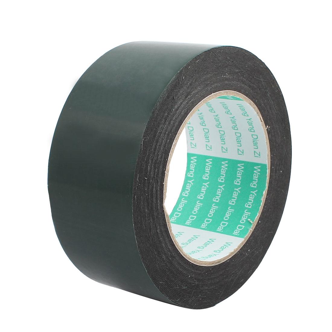 50mmx0.5mm Double Sided Sponge Tape Adhesive Sticker Foam Glue Strip Sealing 10m