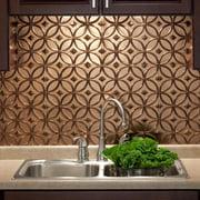 Fasade  Rings Oil Rubbed Bronze 18 sq. ft. Backsplash Kit
