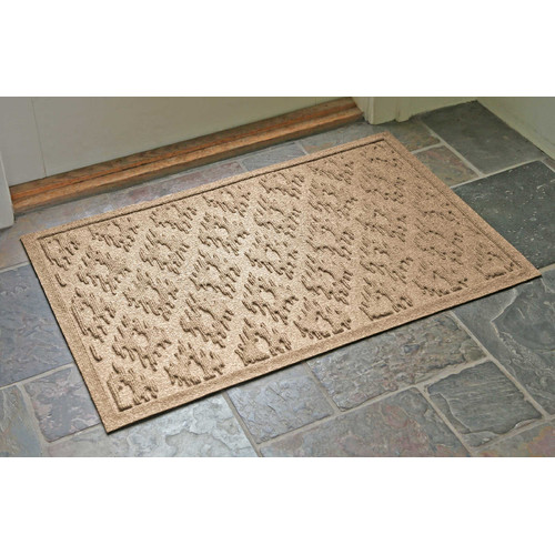 Bungalow Flooring Aqua Shield Ikat Doormat