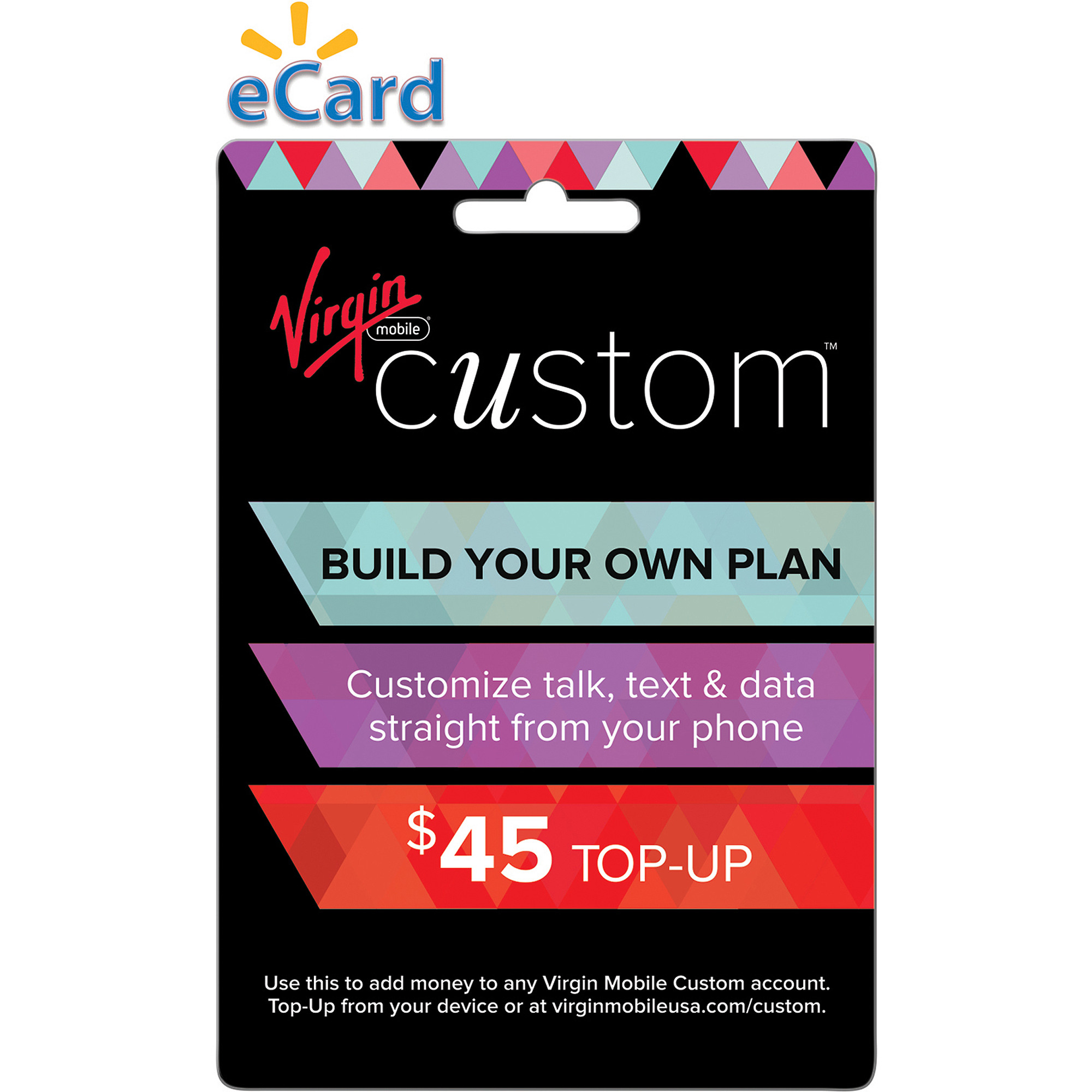 Virgin Mobile Custom $45 (Email Delivery)