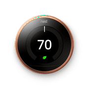Nest Learning Smart Thermostat (3rd Generation), No Hub Required