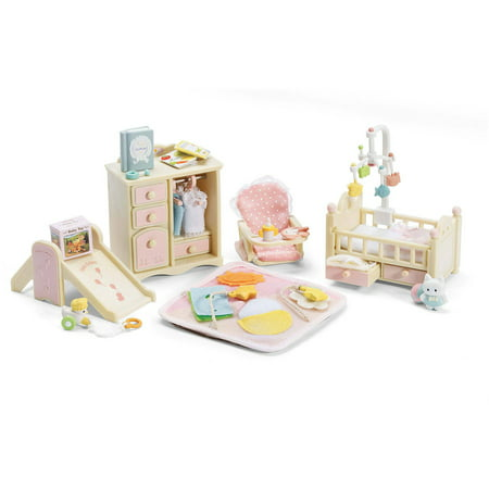 Calico Critters Baby's Nursery Set Critter House Room Furniture