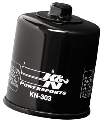 K&N Oil Filter for Snowmobile YAMAHA RXW10 RX WARRIOR 1000cc 04-05