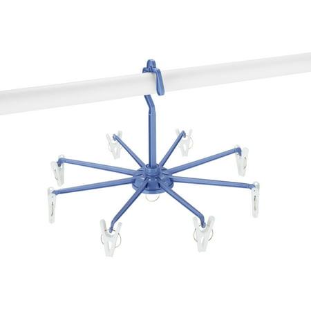 Whitmor Clip & Drip Hanger W/8 Clips - 8 Hanger Clips