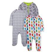 Sleep 'N Play Pajamas, 3-pack (Baby Boys)