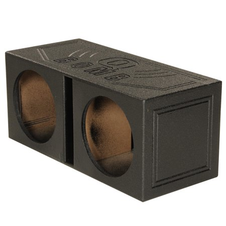 Vented Woofer - Q Power QBomb QBOMB12V Dual 12