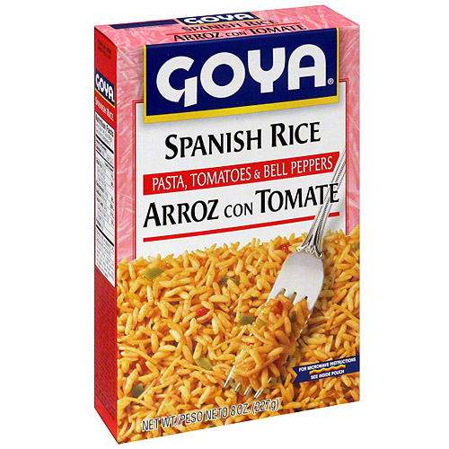 Goya Spanish Rice, 8 oz (Pack of 24)