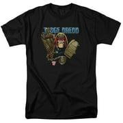 Judge Dredd - Smile Scumbag - Short Sleeve Shirt - XX-Large