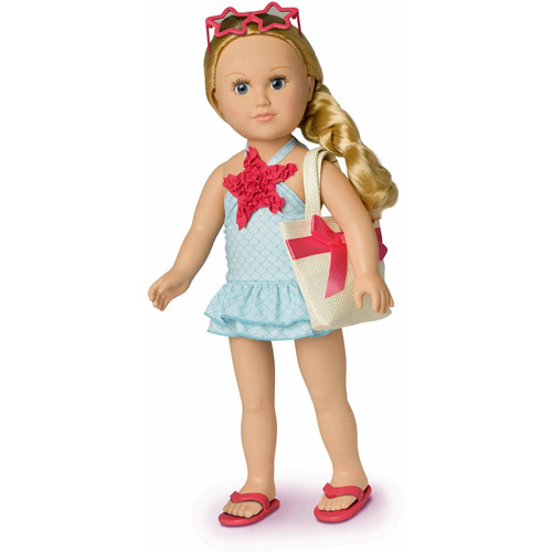 """My Life As 18"""" Beach Vacationer Doll"""
