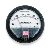 DWYER INSTRUMENTS 2025 Dwyer Magnehelic Pressure Gauge,0 to 25 In H2O