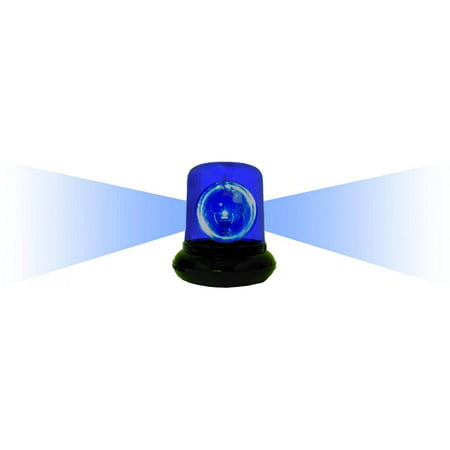 Electrical Police Beacon Light, Blue; Measures 7