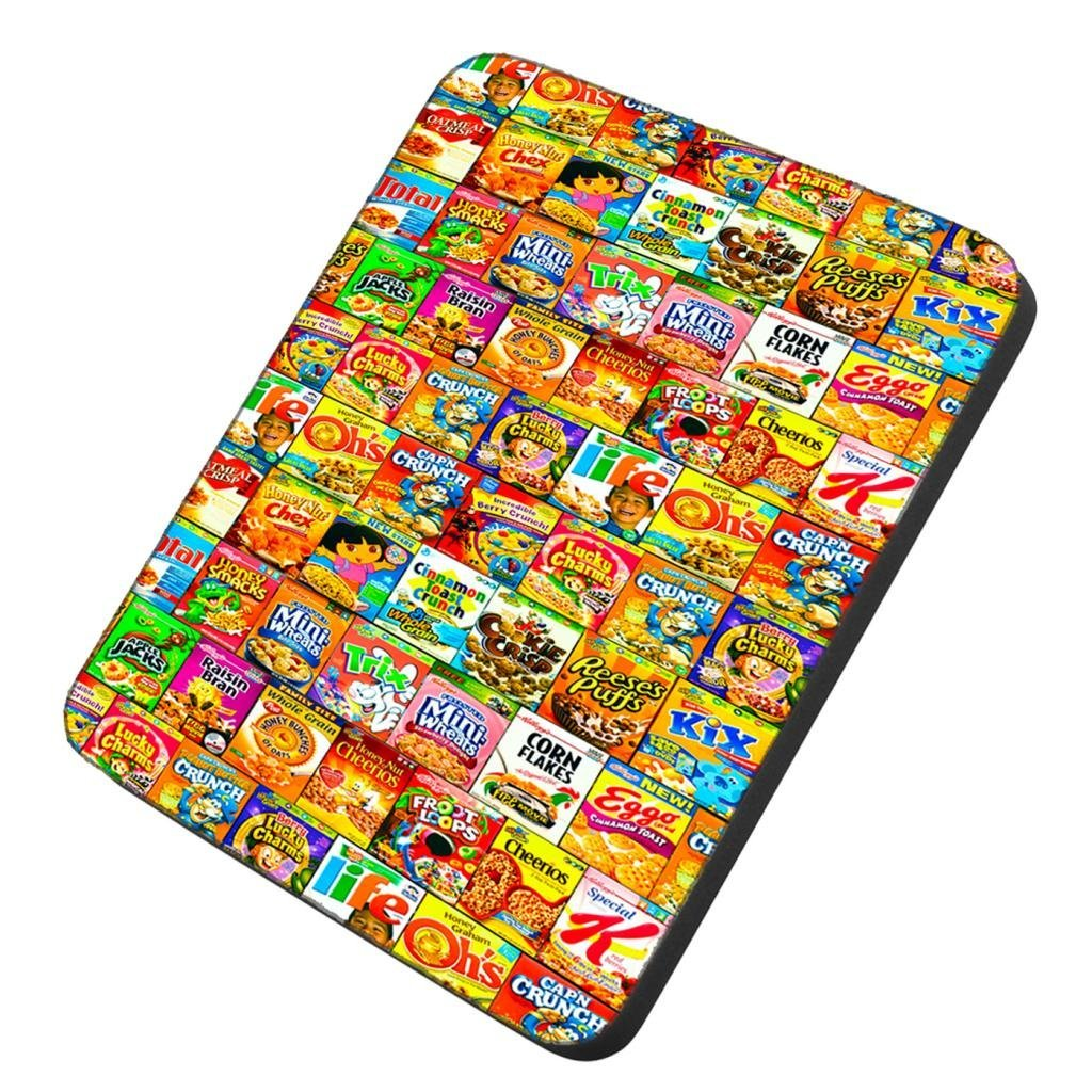 POPCreation Cereal Boxes Mouse pads Gaming Mouse Pad 9.84x7.87 inches