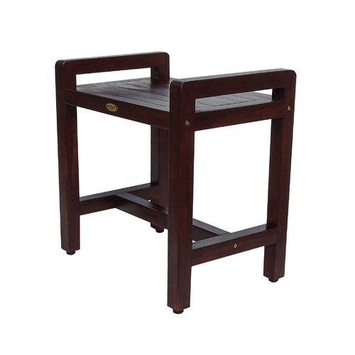 Decoteak lattice Shower Seat