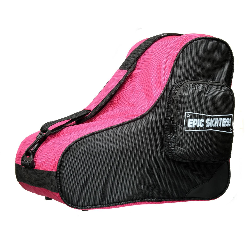 Epic Pink Black Premium Skate Bag by Epic Skates