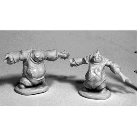 28 mm Dark Heaven Bones Lesser Stitch Golems W3 Pack Mint of Miniature Games - 2 Count - image 1 of 1