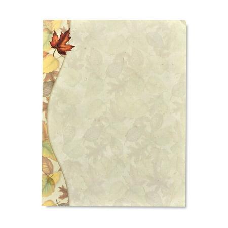 Gartner Studios Autumn Leaves Stationery, 100 count 100 Ct Stationery