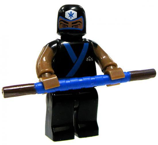 Mega Bloks Power Rangers Super Samurai Blue Ranger Training Mode Minifigure by