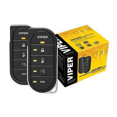 Refurbished Viper 4806V 2-Way LED Remote Start (Viper Responder 350 2 Way Security System)