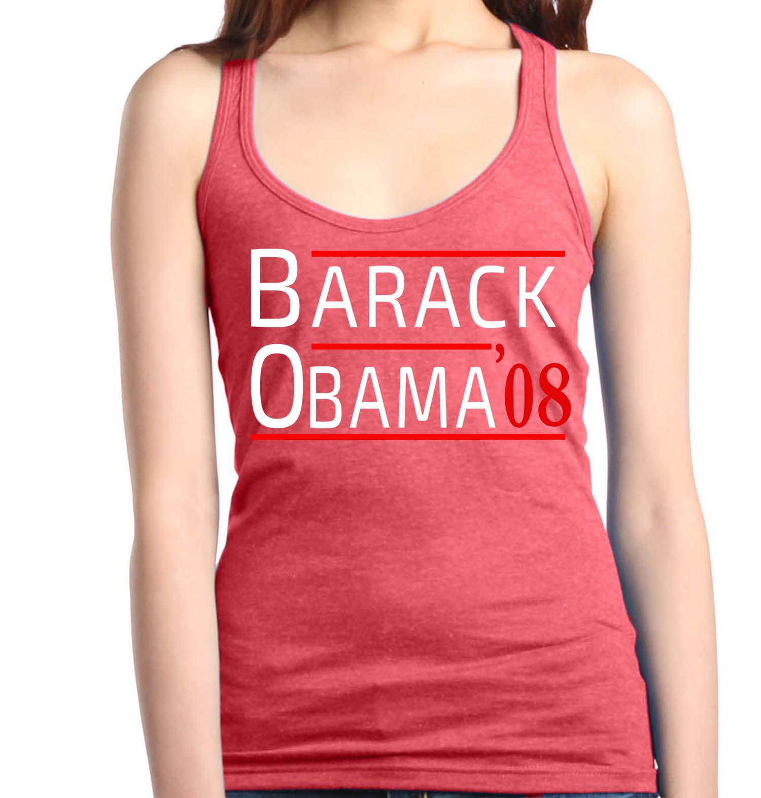 Shop4Ever Women\'s Barack Obama \'08 United States 44th President ...