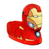 7702-1 - Marvel Classic Avengers - Iron Man Slippers - Small - Happy Feet Mens and Womens Slippers