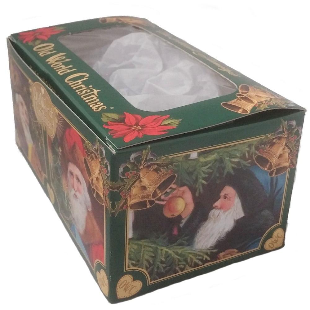 Old World Christmas Small Acorn Glass Ornament FREE BOX 28051 New