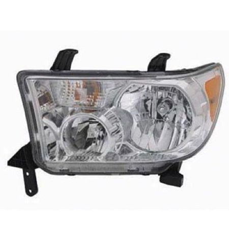 Go-Parts » 2007 - 2013 Toyota Tundra Front Headlight Headlamp Assembly Front Housing / Lens / Cover - Left (Driver) Side 81150-0C051 TO2502171 Replacement For Toyota