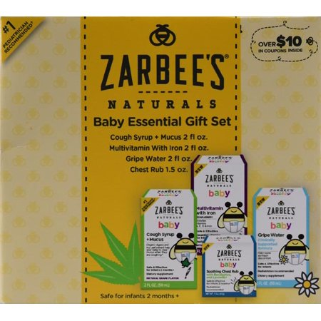 Zarbee S Naturals Baby Bee Prepared Kit Includes Cough