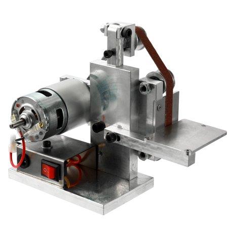 Multifunctional Grinder Mini Electric Belt Sander DIY Polishing Grinding Machine Cutter Edges Sharpener - image 1 of 7